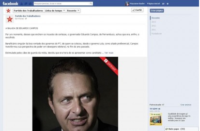 O Ataque virtual do PT a Eduardo Campos