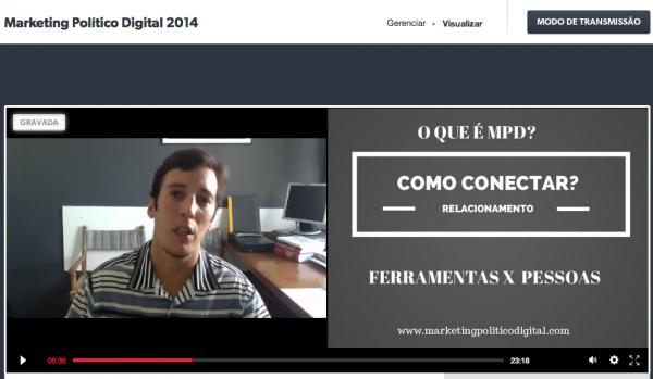 Bate papo online sobre Marketing Político Digital: assista!