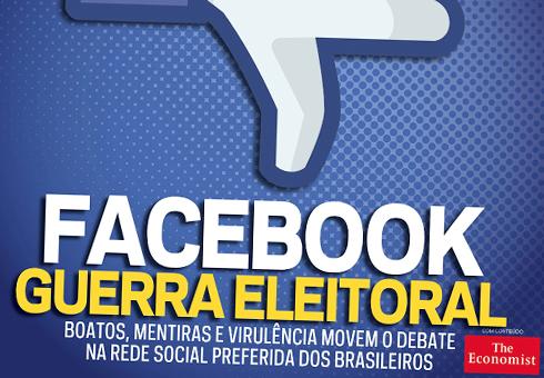 A quatro meses da eleição, os partidos se engalfinham no Facebook