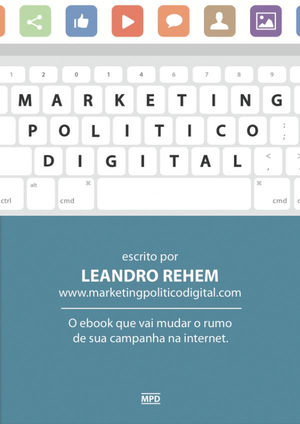 Marketing Político Digital, nosso ebook está disponível!