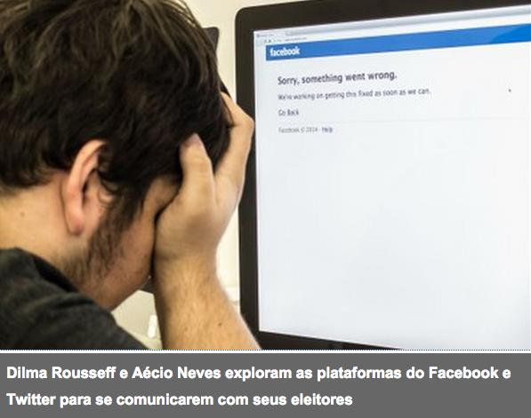 Facebook e Twitter com força na campanha presidencial, mas televisão segue imbatível. Será mesmo?