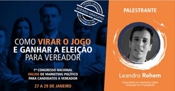 AUMENTE EM 3X SUAS CHANCES DE SER ELEITO VEREADOR – Marpo 2016 (Congresso de Marketing Político)