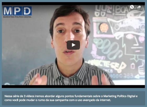 Série de vídeos ajuda a pensar uma campanha política na internet de alto nível! [ASSISTA]